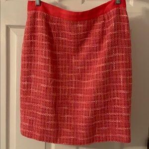 Kate Spade skirt pink tweed